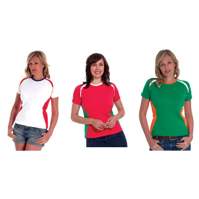 ladies premium short sleeve union t-shirt