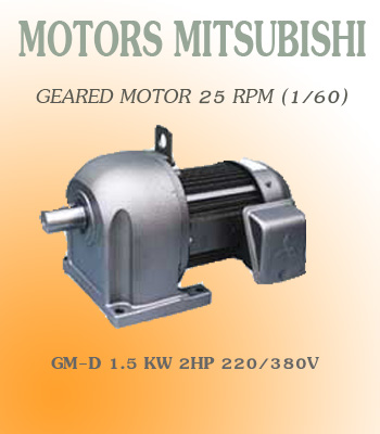 GM-D 1.5KW 2HP  220/380V