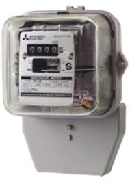 Mitsubishi Watt Hour Meters MF 33E 1P2W 15A(45A),ราคา 1,000 บาท