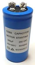 CAPTOR MOTOR STARTING CAPACITOR 150MFD 250VAC
