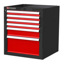 FACOM JLS2-MBS6T  JETLINE + BASE UNITS - 6 DRAWERS