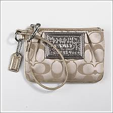 == SOLD OUT== กระเป๋า COACH POPPY SIGNATURE KHAKI WALLET  STYLE NO. 42885