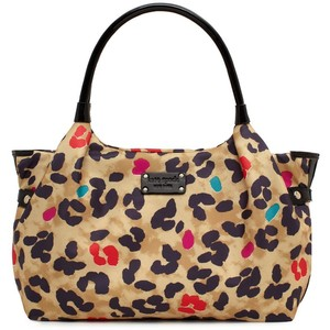 กระเป๋าสะพาย KATE SPADE POP ART STEVIE LEOPARD SATCHEL