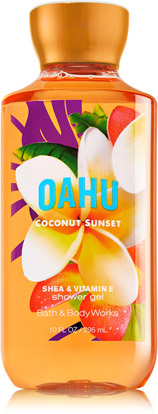 เจลอาบน้ำ  SHOWER GEL BATH AND BODY WORKS OAHU COCONUT SUNSET