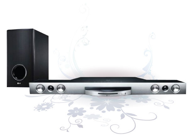 Home Theater LG 3D Blu-ray Model HLX56S