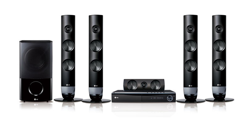 3D Blu-ray Home Theater LG Model HB806TM