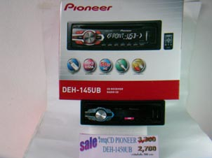 CD MP3 USB PIONEER รุ่น DEH-145UB