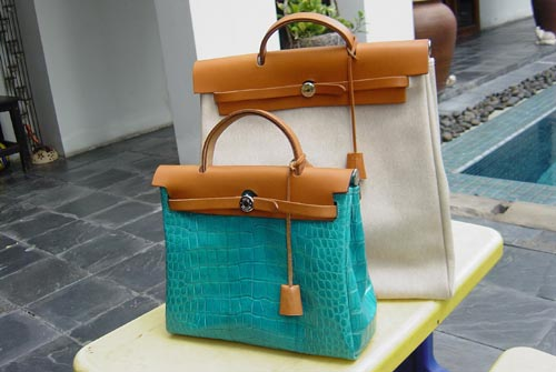 "birkin bag.com - how i transform hermes"" her bag""into my super ""crocodile rocks""bag...."
