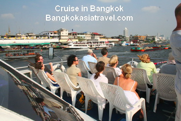 Ayuttahya City as World Heritage and Chao Phraya River Cruise Tour 1,700Baht/pp