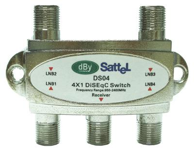 DiSEqC Switch 4x1 DBY DS04