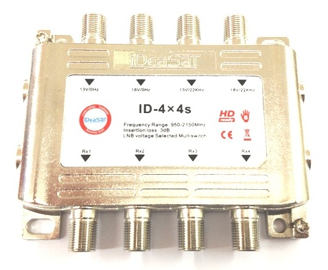 MULTI SWITH 4x4 IDEASAT ID-4x4s