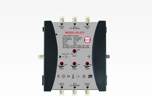 AMPLIFILER MULTI SWITH IDEASAT ID-A33