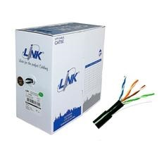 สายLAN LINK US-9045 CAT 5E ,PE UTP OUTDOOR [Double Jacket] (305 เมตร)