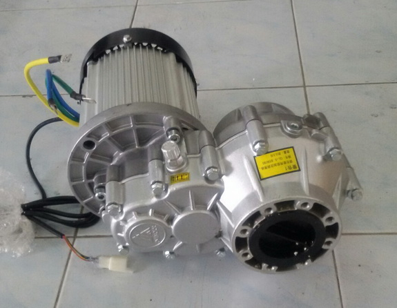 Bldc Differential Gear Motor 48v 60v 1200w Gear Ratio 10 4