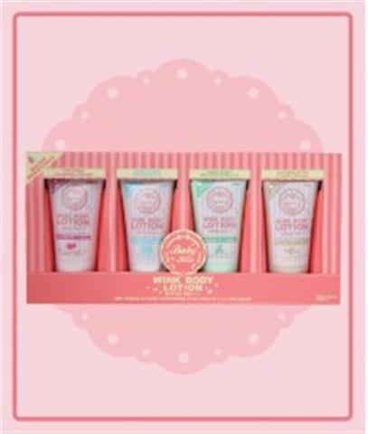 BABY KISS WINK BODY LOTION 4 COLORS IN 1 PACK  SPF30