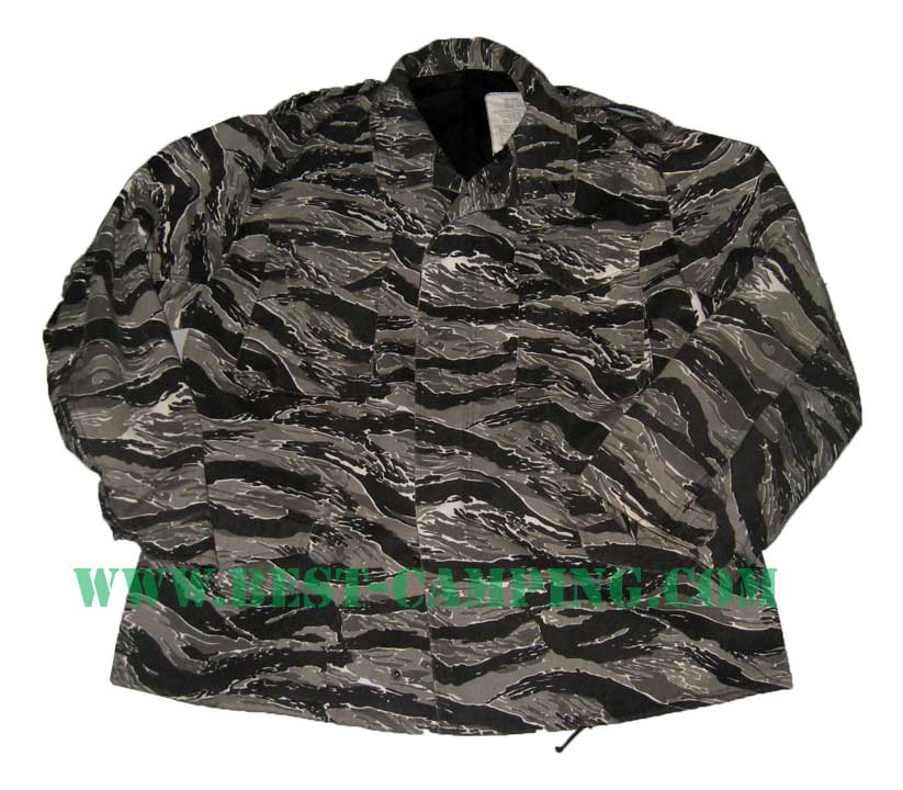 JACKET FIELDS M65 ALPHA TIGER BLACK PATTERN (มือ 2)