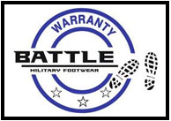 warranty by battlefootwear