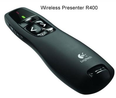 Logitech Wireless Presenter รุ่น Cordless Presenter R400