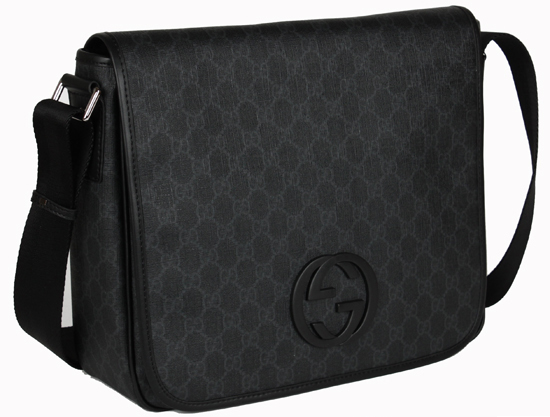 Gucci Messenger Bag Black Gucci Black Large Messenger