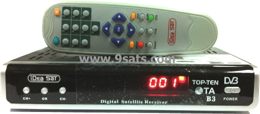 RECEIVER IDEASAT TOP-TEN (OTA) Biss Key