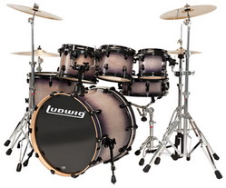 กลองชุด LUDWIG Element Lacquer - LCB22RX Power Set