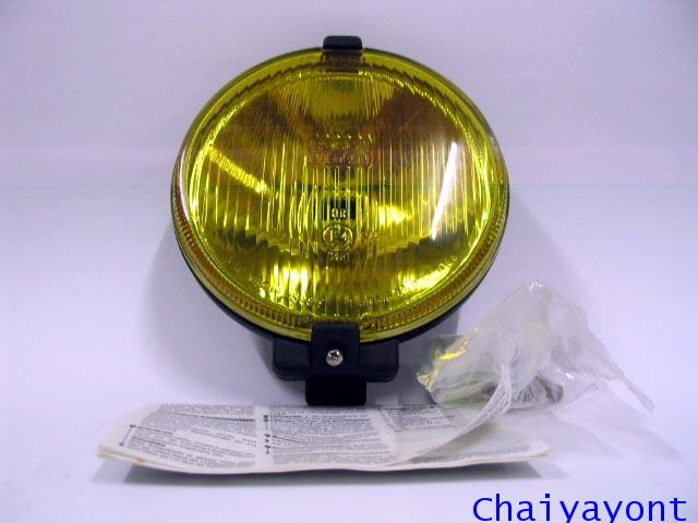 Yellow Fog Lamp Spot Light Bosch Mercedes Benz W108 W109