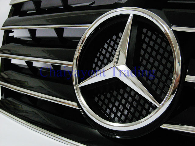 Accessories star sport grille cl type amg mercedes benz for Mercedes benz amg accessories
