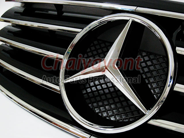 Amg black grille accessory cl type mercedes benz w202 c180 for Mercedes benz usa accessories