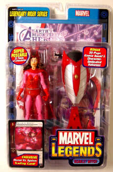 MARVEL LEGENDS SERIES 11 SCARLET WITCH