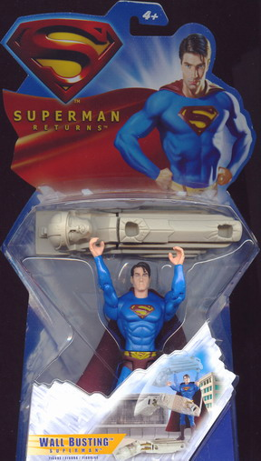 Superman Returns - Wall Busting Superman