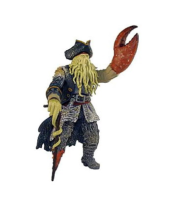 Pirates of the Caribbean 2 - Davy Jones with Menacing Arm and Snapping Claw 7""