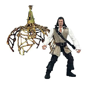 Will Turner with Cannibal Bone Cage and Trip Wire Trap