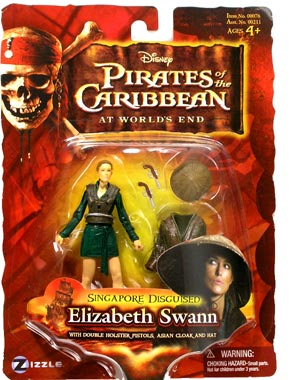Pirates - At World End - Singapore Disguise Elizabeth Swann
