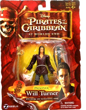 Pirates of the Caribbean  3 -  Prisoner Will Turner