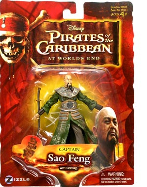 Pirates of the Caribbean  3 - Captain Sao Feng