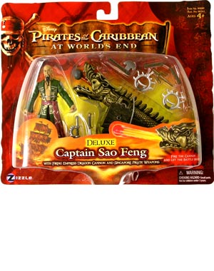 Pirates of the Caribbean  3 - Deluxe Captain Sao Feng