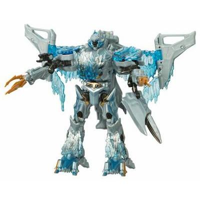 TRANSFORMERS Movie Voyager: MEGATRON Frozen (Loose)