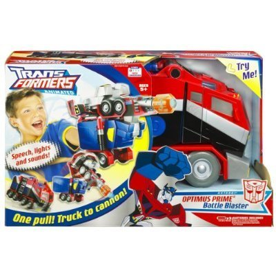 Transformers Animated Optimus Prime Battle Blaster