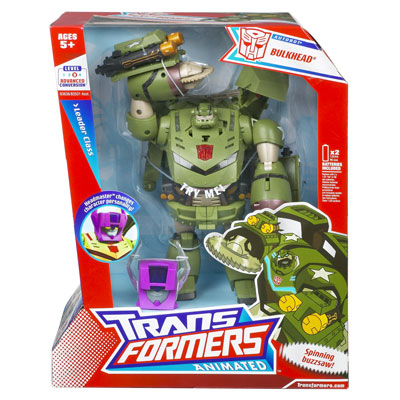 TRANSFORMERS ANIMATED Leader Class: BULKHEAD