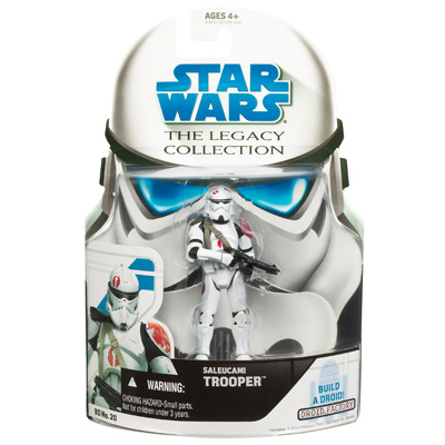 STAR WARS The Legacy Collection Build-A-Droid: SALEUCAMI TROOPER