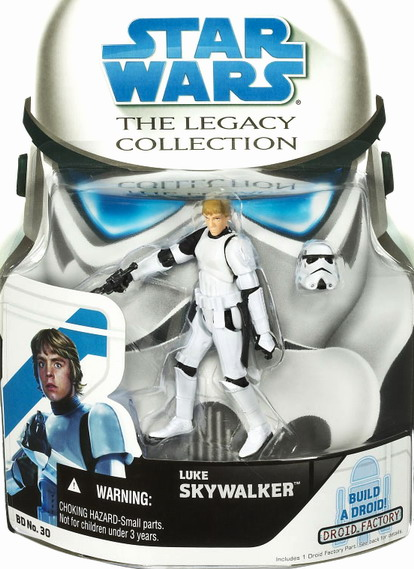 Star Wars The Legacy Collection Build-A-Droid: Luke in Stormtrooper Disguis