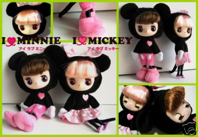 Disney Dollcena I Love Mickey Mouse Doll