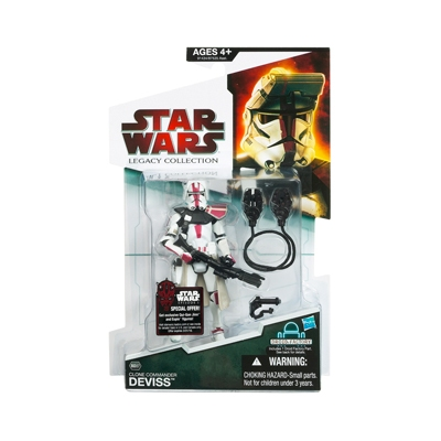 Star Wars Legacy Collection  Clone Commander Deviss