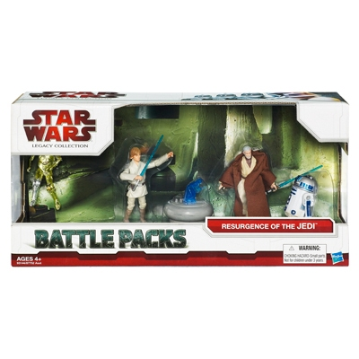 Star Wars Legacy Collection Battle Packs — Resurgence of the Jedi
