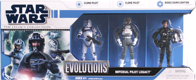 2008 Legacy Collection Evolutions Boxed Imperial Pilot Legacy