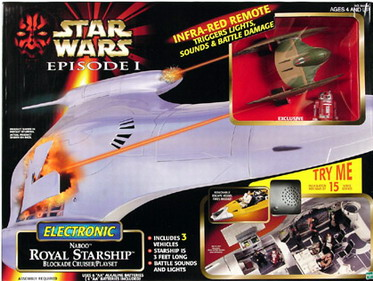 Star Wars Episode 1 Electronic Naboo Royal Starship