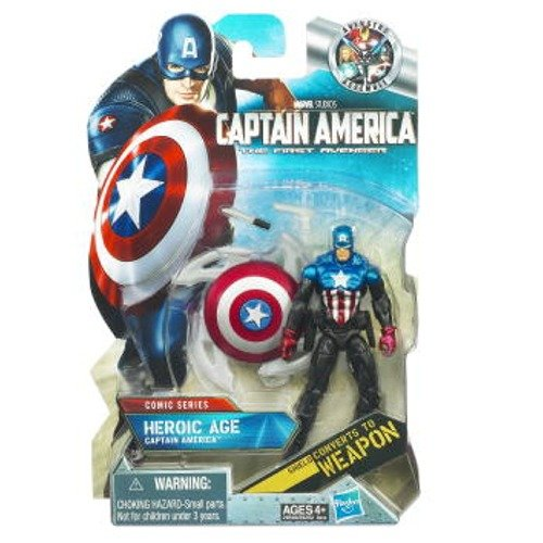 Captain America Movie Heroic Age Captain America