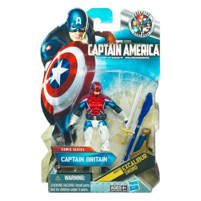 Captain America Movie Captain Britain [Mighty Excalibur Sword]