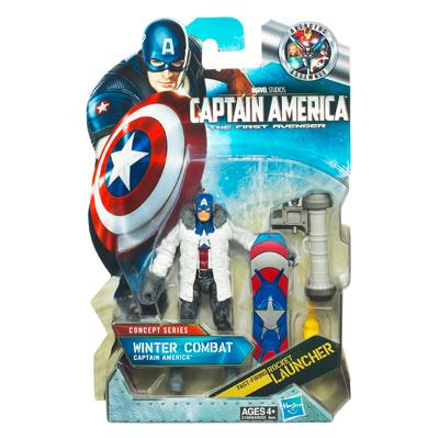 Winter Combat CAPTAIN AMERICA
