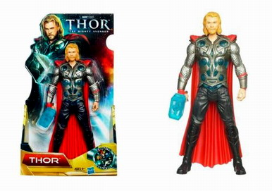 Thor Movie Action Figures: Lightning Thor (8 Inch Version)